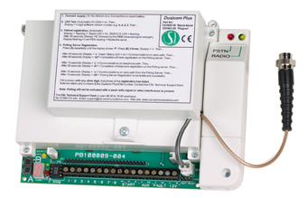 DualCom plus is a totally integrated dual-signalling device
