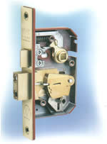 Mortice 5 and 7 lever locks provide excellent security protection for front, side and rear doors